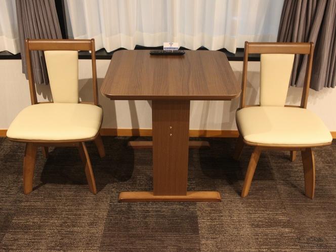 洋室(VIPルーム)テーブル・チェアー
