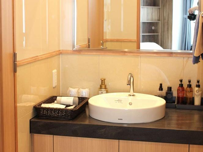 洋室(VIPルーム)・和洋室(ROYALルーム)洗面所