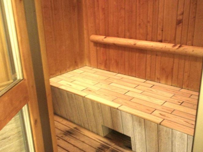 個室風呂、サウナ