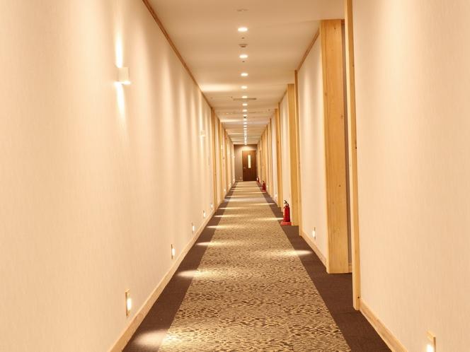ホテル棟通路