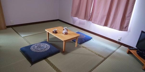 ★すだちのお部屋:明るい和室のお部屋です。