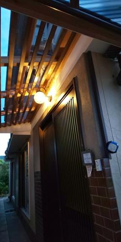旧館の玄関です