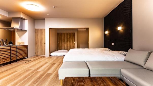 露天風呂付客室 50平米スタンダードルーム♪