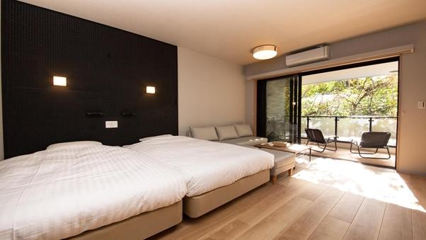 ドッグフレンドリールーム♪半露天風呂付客室 50平米