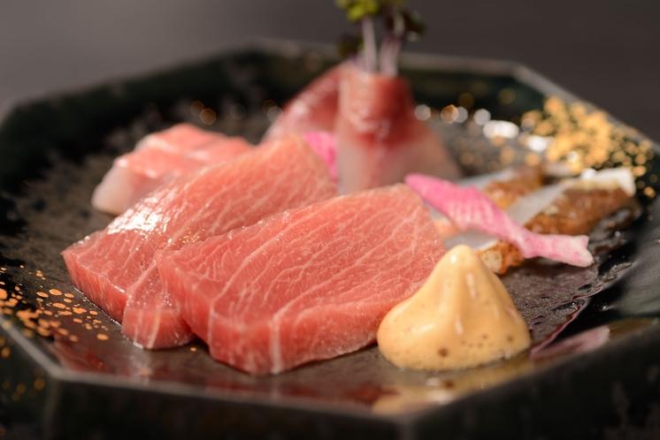 料理の一例 旬のお刺身・・☆