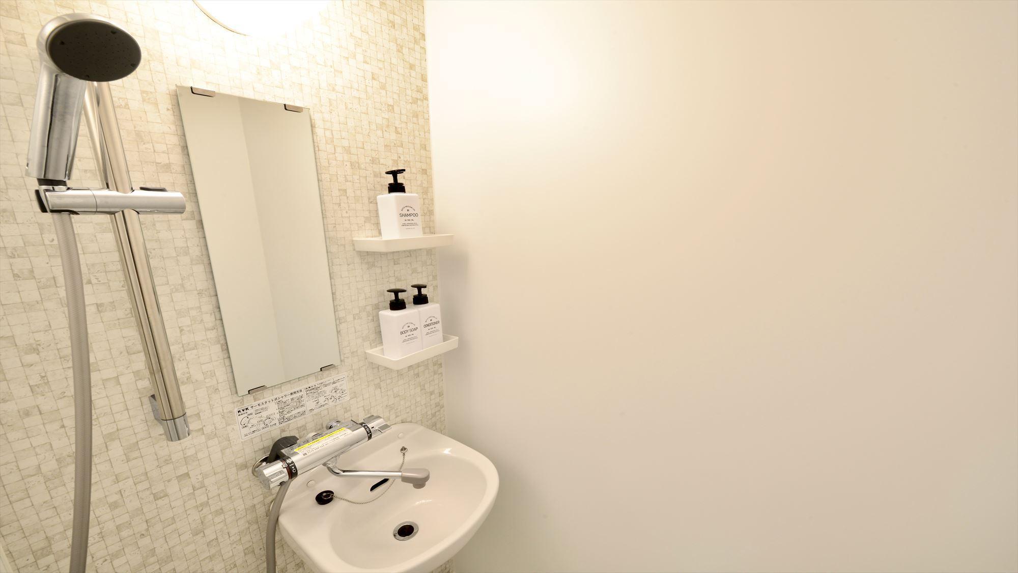 502号室 バスルーム