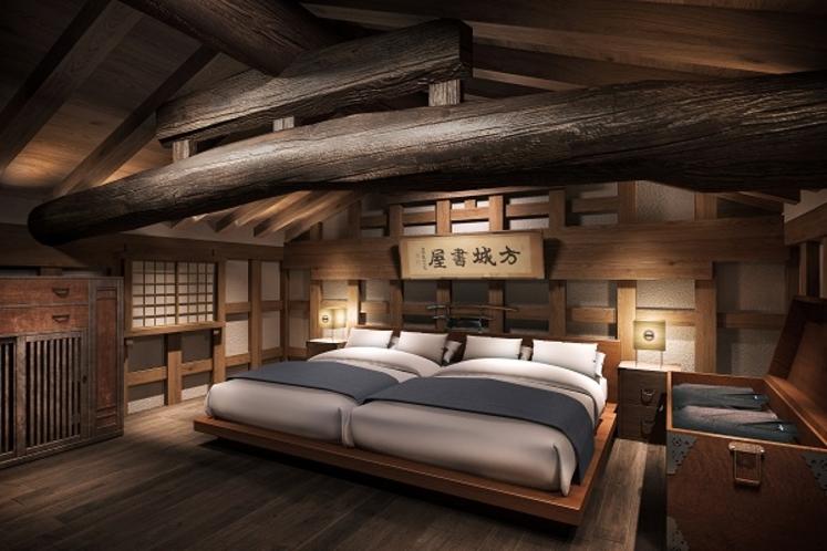 寝室/武士蔵