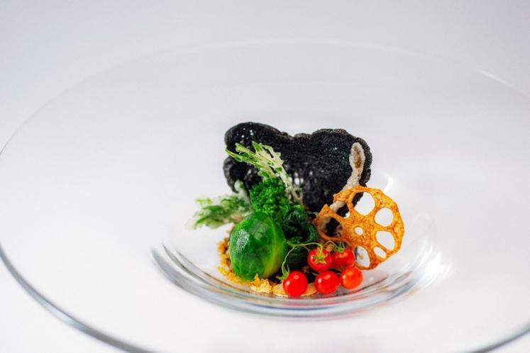 春の料理 前菜の一例