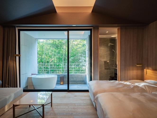 客室イメージ(木立のツイン)