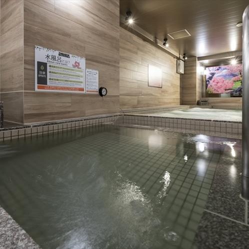 温泉気分でととのう!和みの人工温泉 女性大浴場「錦の湯」♪