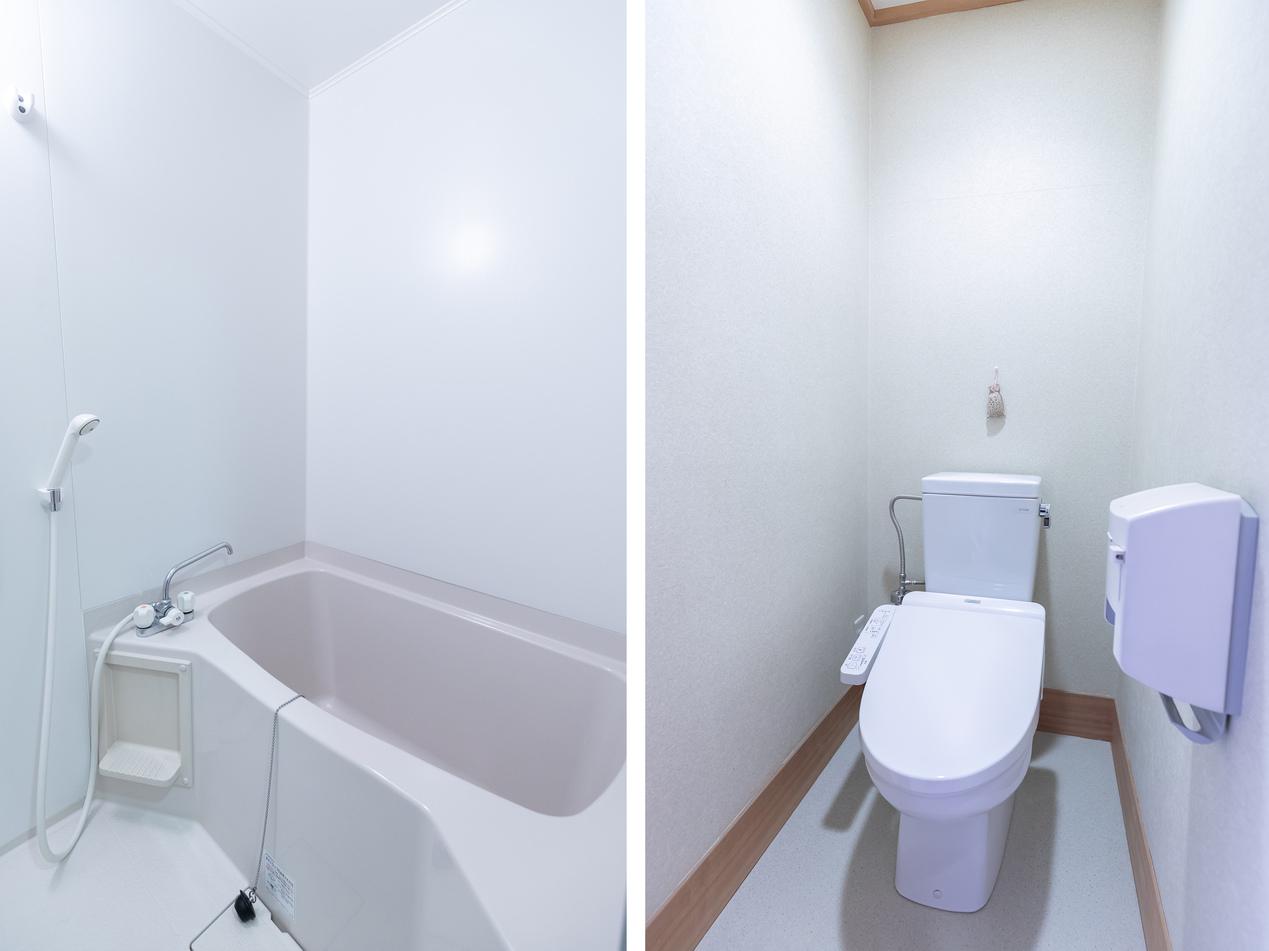 和室四人部屋 バスルーム