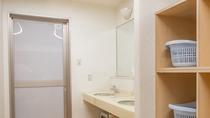 1階大浴場(脱衣所)