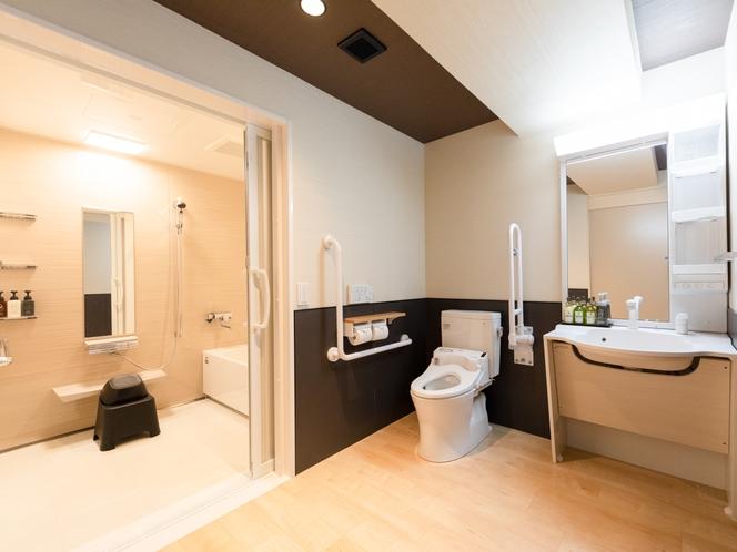 バリアフリールーム 洗面・トイレ・風呂