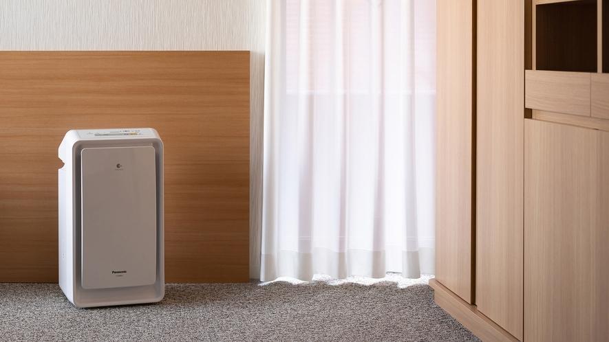 ◆客室設備 加湿機能付空気清浄機