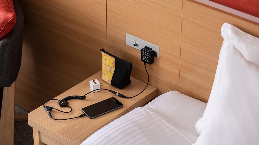 ◆客室設備 モバイルバッテリー
