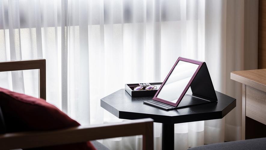 ◆客室設備 おりたたみ鏡