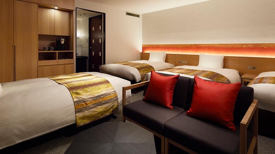 ◆トリプル(4ベッド)