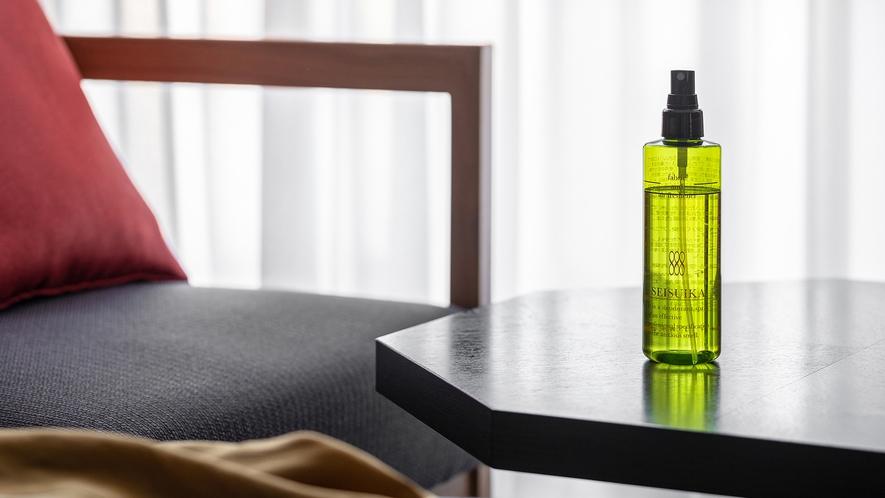 ◆客室設備 消臭スプレー「清水香」