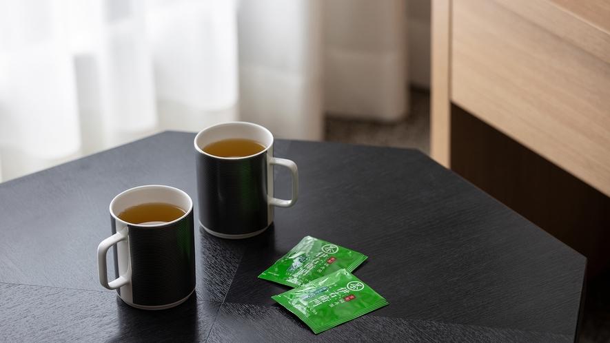 ◆客室設備 煎茶ティーバッグ