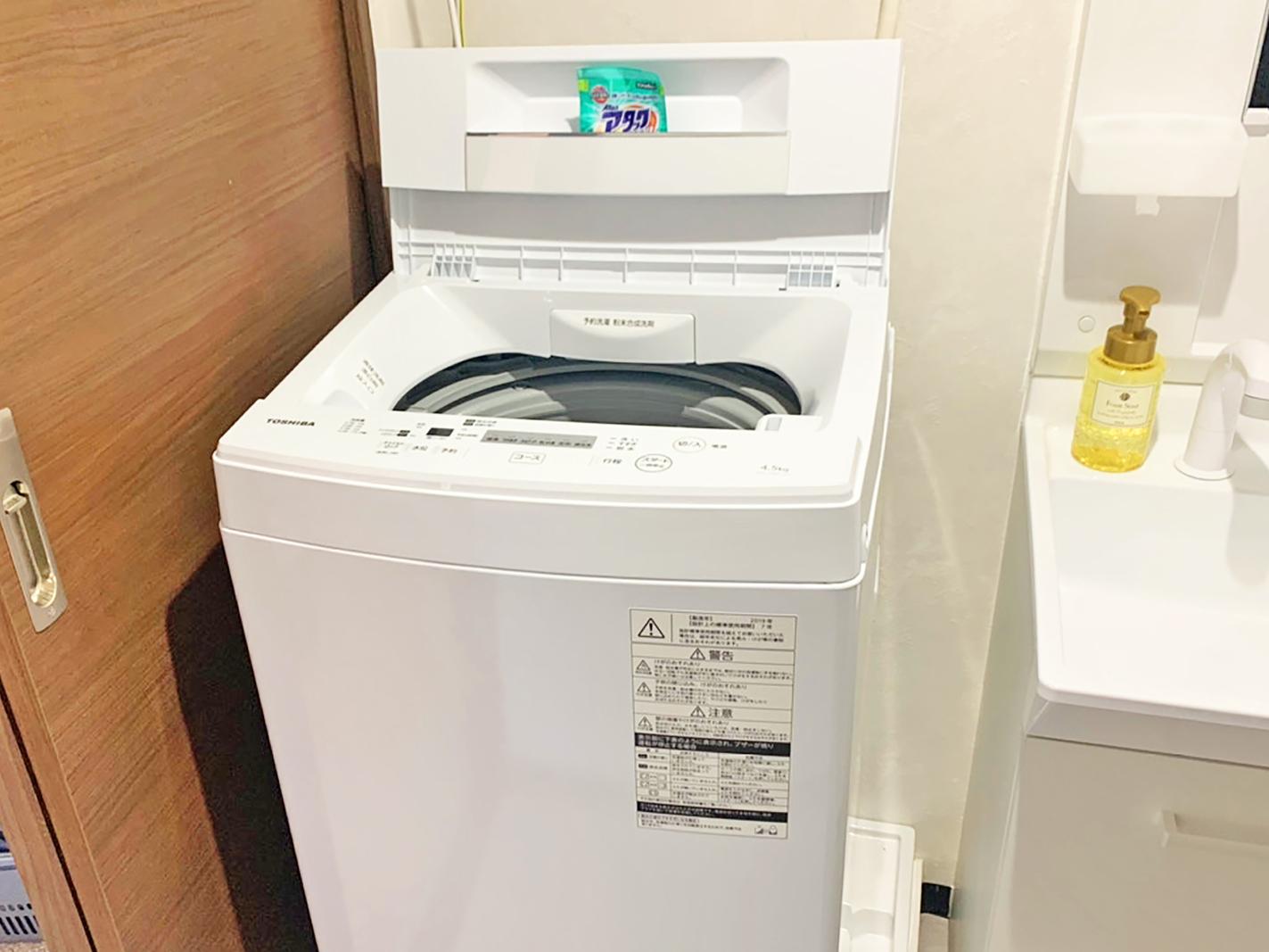 全室に洗濯機有り