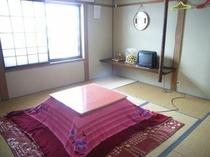 あけぼの山荘・コタツのお部屋