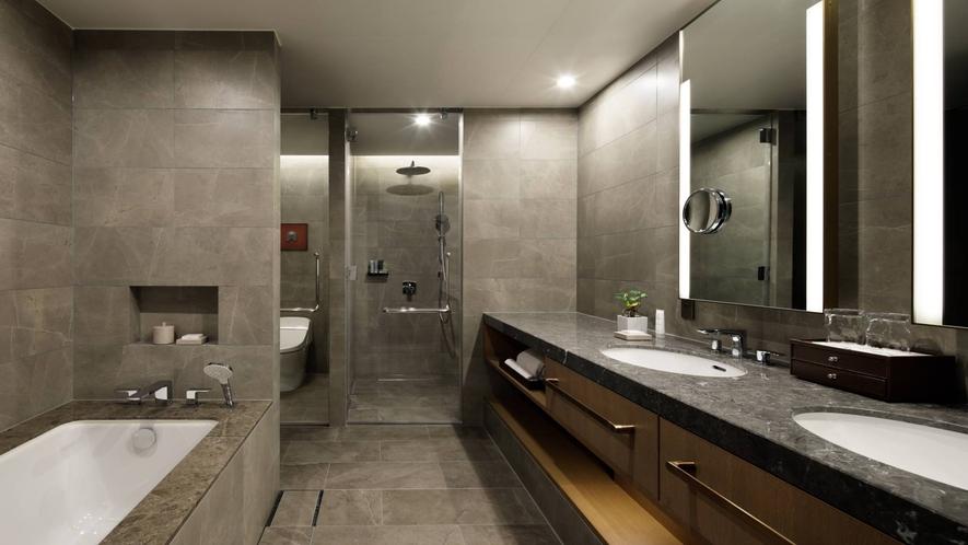グリフィンジュニアスイート バスルーム