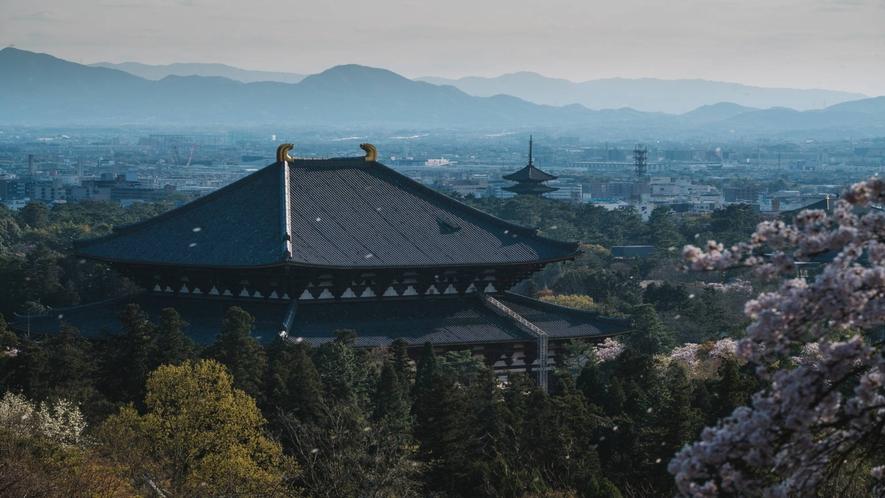 春の東大寺