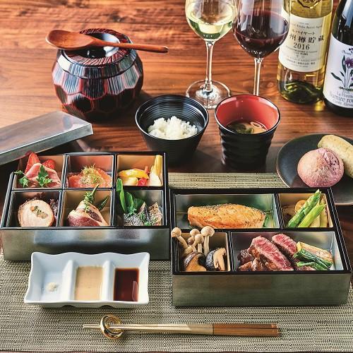 【夕食】ヴィレッジにお泊りのお客様限定♪特製ディナーBOX※イメージ