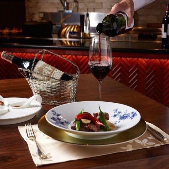 【夕食】鉄板焼きディナー/鉄板焼きとワインで極上の時間をお過ごしください※イメージ