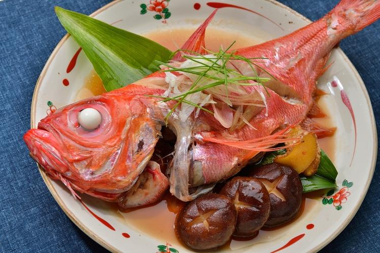 金目鯛の煮つけは絶品です