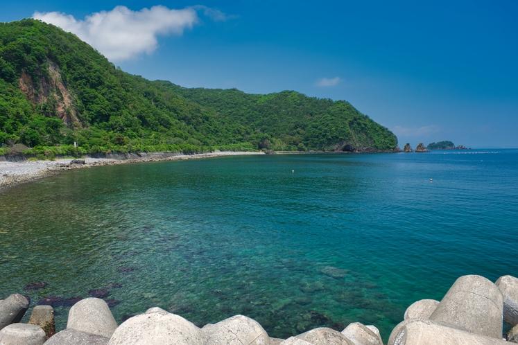 透き通った海の川奈海岸