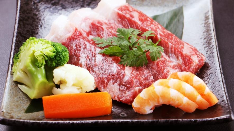 グレードアップ単品_北海道産の和牛サーロインステーキ!
