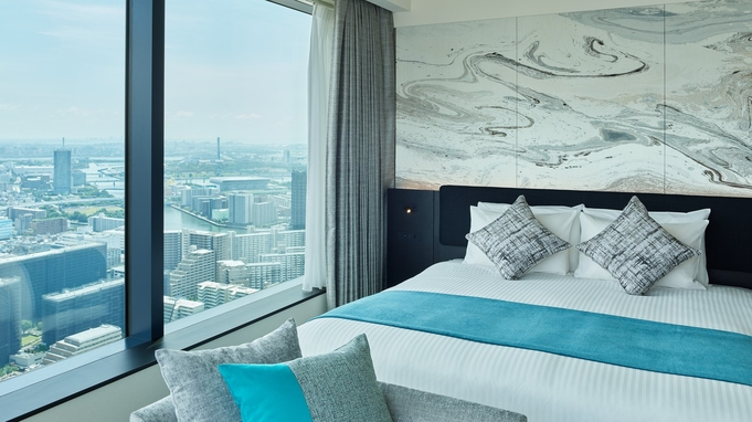 【View Bath Room確約】 海と空を望む天空のホテルで過ごす至福のバスタイム<素泊まり>