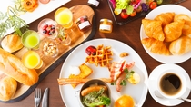 「HARBOR KITCHEN」朝食