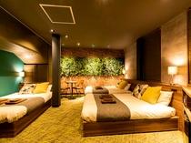6名部屋 L 禁煙、25平米、ベッド幅140
