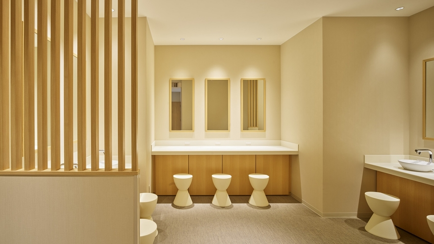 【NEW】ガーデン浴場 女性用パウダールーム