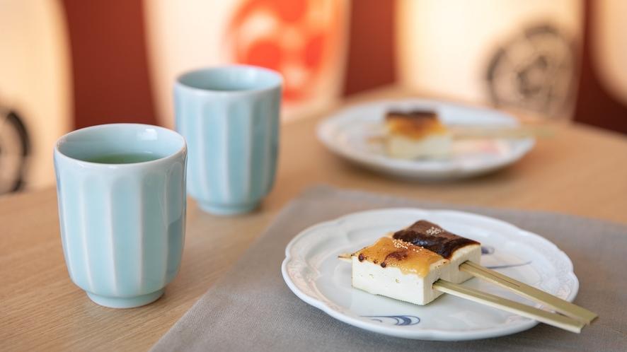 【NEW】朝食ビュッフェイメージ4(豆腐田楽)