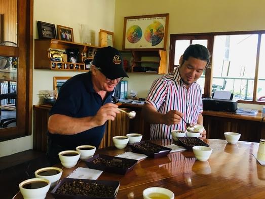 岩崎泰三氏 スペシャルプレゼンツ 極上のパナマコーヒー「ゲイシャ」を愉しむ|朝食付き