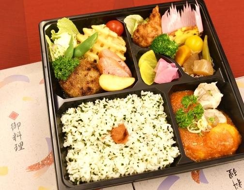 【朝夕2食セット】1泊2食で大満足!デラックスお弁当セット/人数