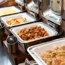 【無料健康朝食】北海道の寒い冬も温かい朝食で元気に♪ご飯に合うおかず多数!
