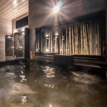 【Natural】男女別天然温泉 花畔の湯(※夜通しご入浴頂けます。15:00~翌9:30)