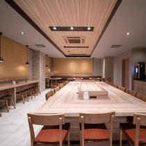 【館内設備】1階ロハスラウンジ。朝食もこちらでお召し上がり頂けます。