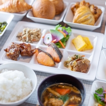 【無料健康朝食】日替わりでご提供する健康朝食ビュッフェが無料♪