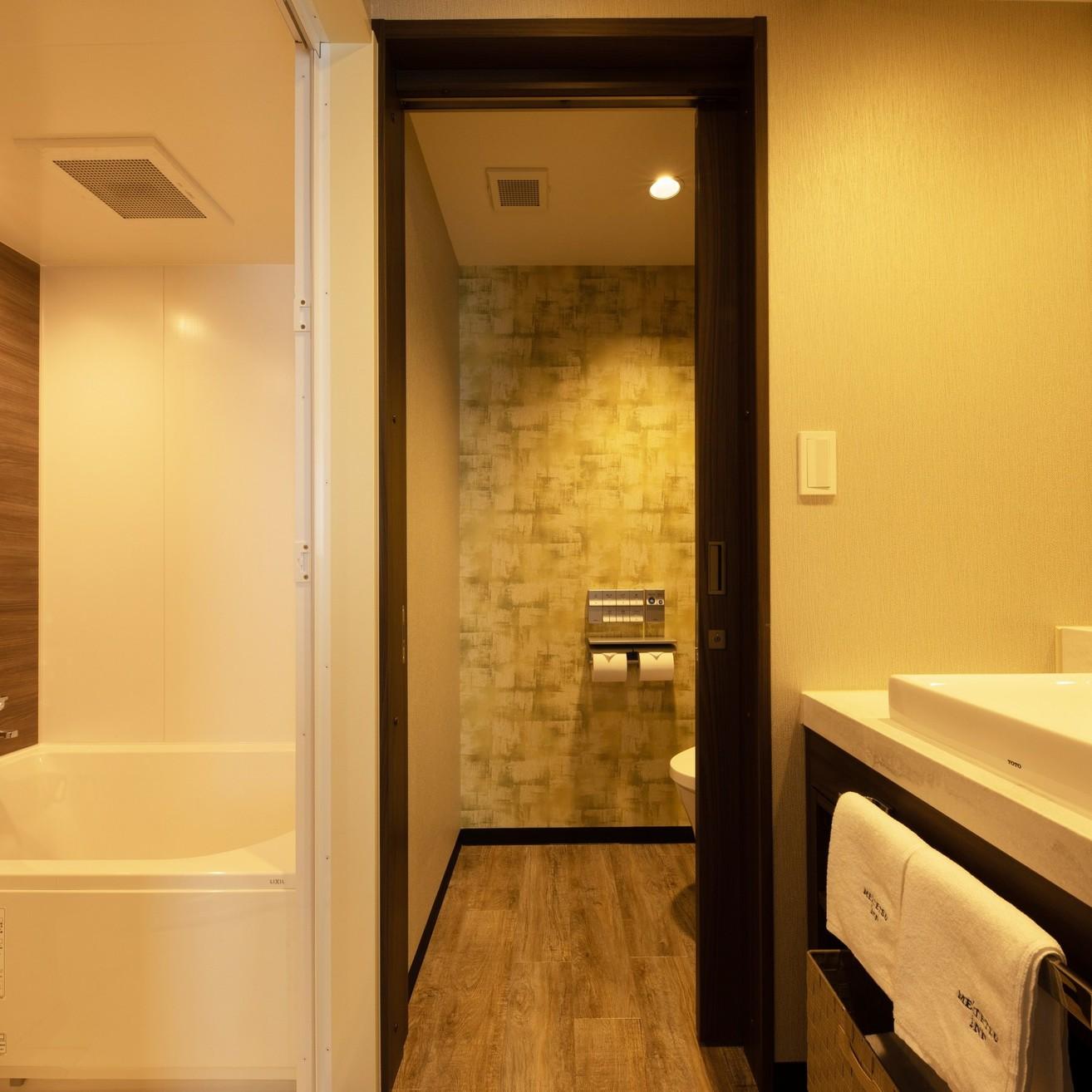 ツインルーム 洗面台・バス・トイレ