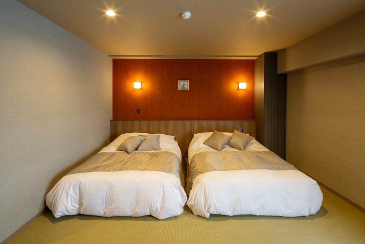 桔梗ダブルベッド
