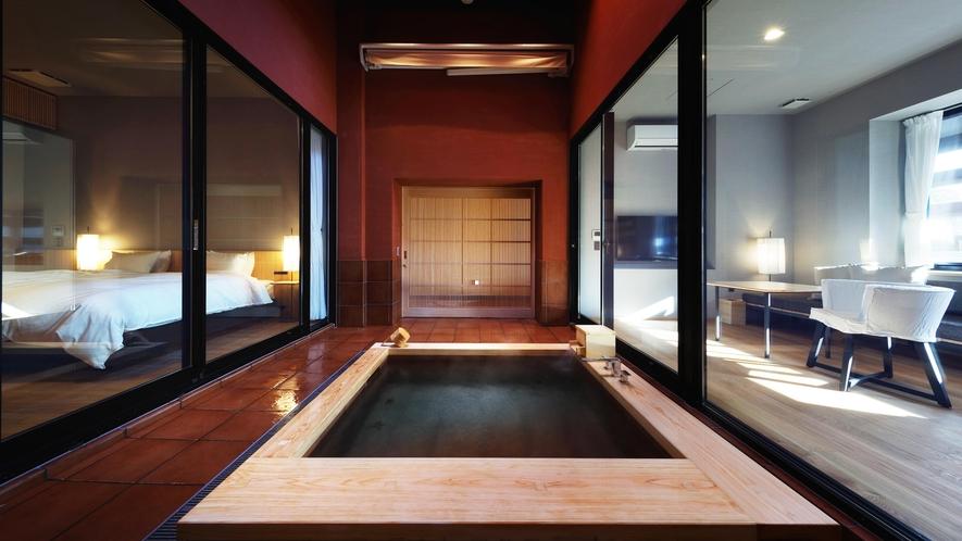 ガーデンスイート 客室露天風呂