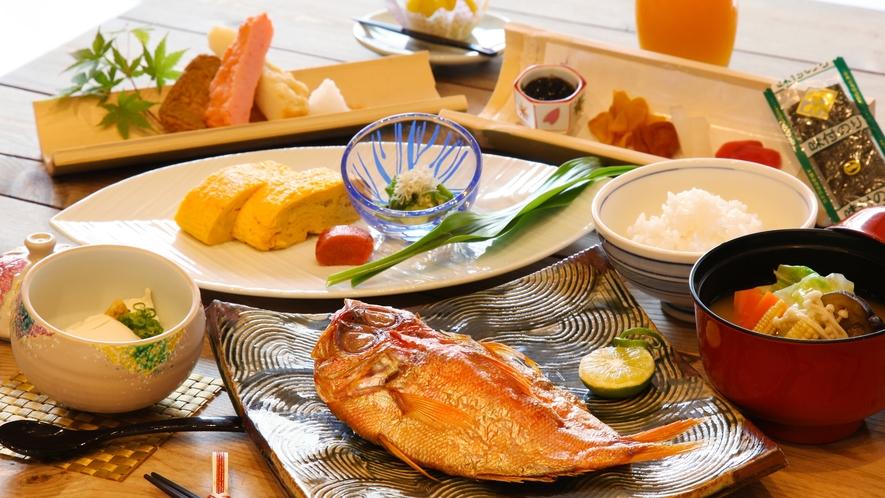 選べるご朝食 和食 夏のメニュー