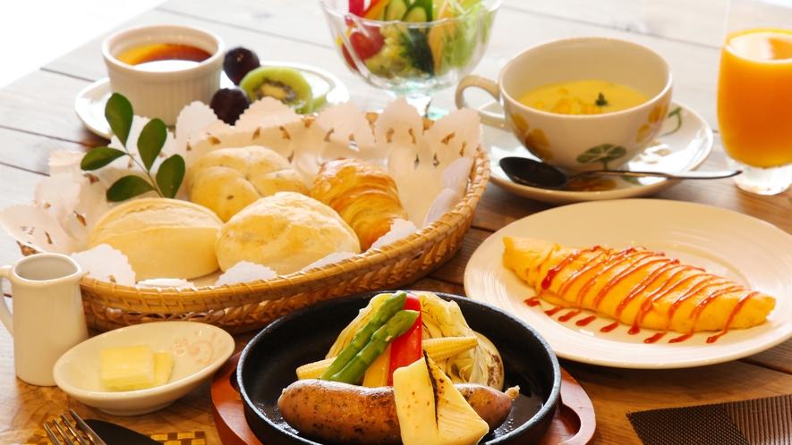 選べるご朝食 洋食 夏のメニュー