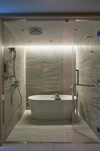 プレミアスイートツイン バスルーム