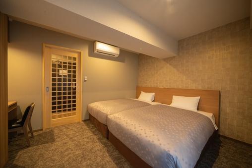 【全館禁煙】モデレートツインルーム(120cm幅ベッド)